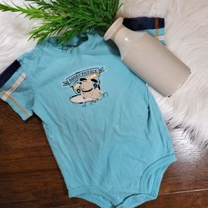 🌿5/$25 Carter's Blue Dog Bodysuit | sz 18m